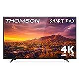 THOMSON 65UG6300 - Televisor LED de 65 pulgadas, Smart TV con 4K UHD, Dolby Audio, Compatible con Alexa
