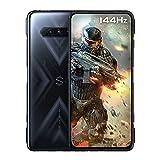 "Black Shark 4 [5G] - Smartphone 8+128GB, Pantalla 144Hz 6,67"", Snapdragon 870, 48MP Triple Cámara, Batería 4500mAh, LPDDR5 RAM + UFS3.1 Storage, Negro (Versión Global)"