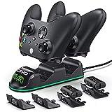 Ładowarka kontrolera OIVO do Xbox One Series XS, 2 x 1300 mAh Akumulator do kontrolera Xbox do Xbox One / One Seria S / One X Series / Pojedynczy kontroler
