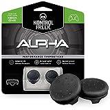 KontrolFreek Alpha para Xbox One y Xbox Series X/S | Performance Thumbsticks | 2 Alturas bajas, cóncavo | Negro.