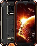 DOOGEE S59 Pro Móvil, [2021] 10050mAh 4GB RAM+128GB ROM, lP68 IP69K Movil Resistente, Potente Altavoz 2 W, Cámara Cuádruple 16MP+Cámara Frontal 16MP Smartphone Android 10 4G, 5.71', NFC/GPS, Naranja