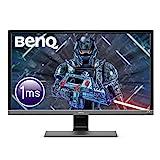BenQ EL2870U - Monitor Gaming de 28' 4K UHD (3840x2160, 1ms, 60Hz, 2x HDMI, Modo HDR, Fre-Sync, DisplayPort, Altavoces, Eye-Care, Sensor Brillo Inteligente Plus, Flicker-free) - Gris