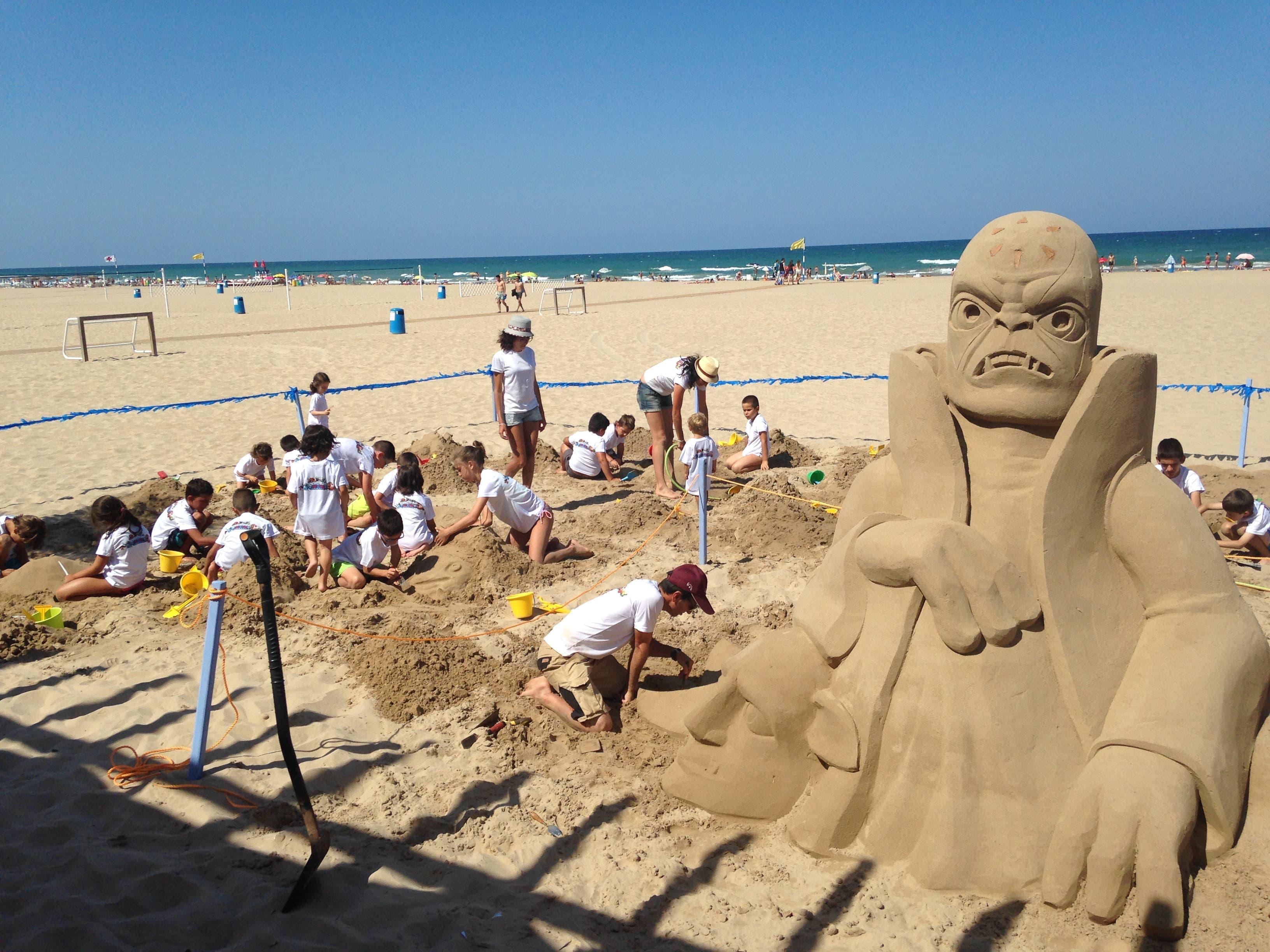 Skylanders Trap Team Figura de Arena en la Playa VII