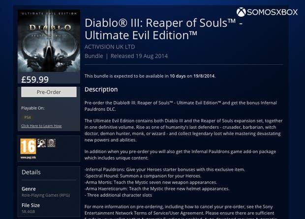 Diablo III Ultimate Edition