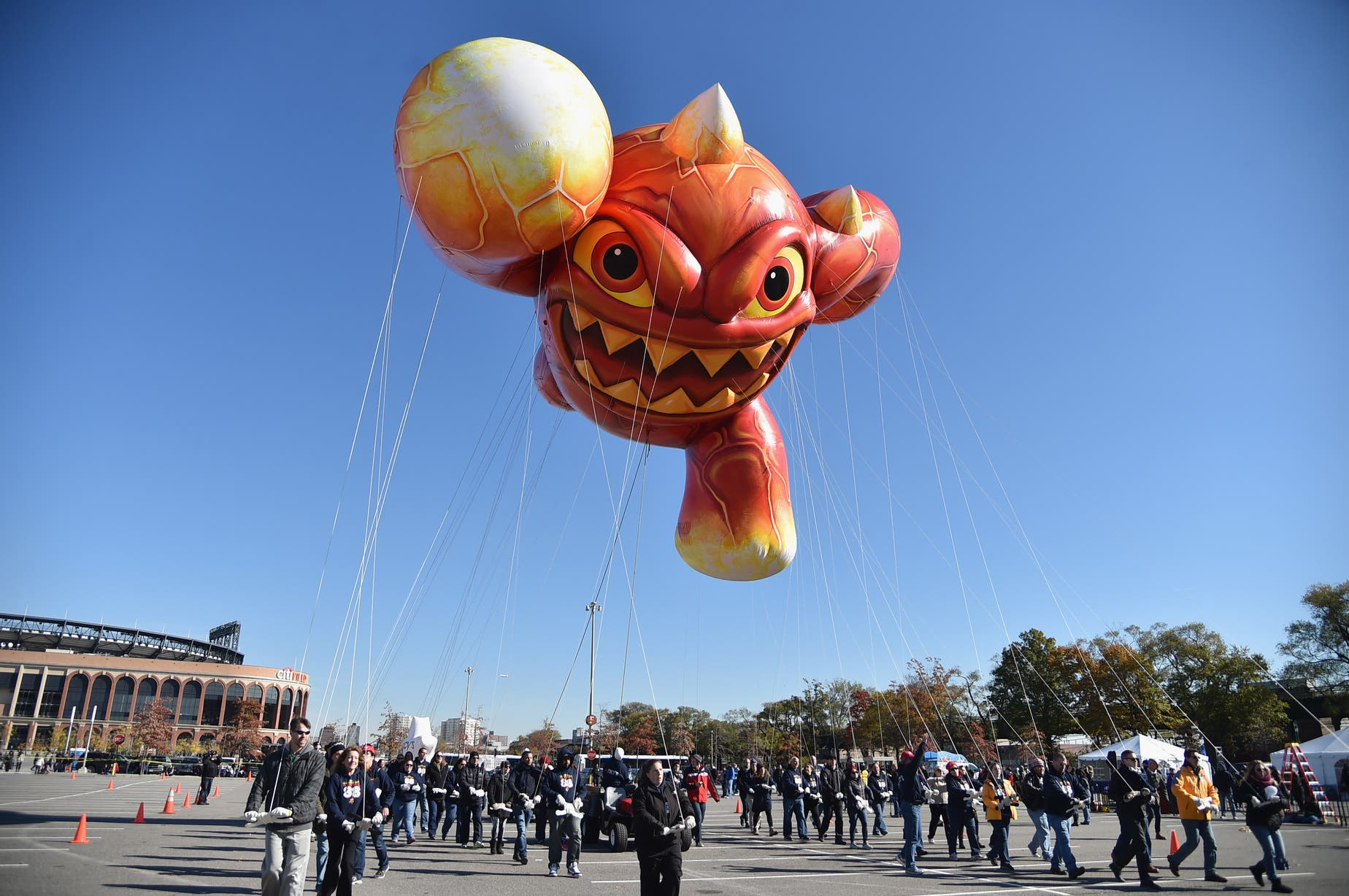 Skylanders' Eruptor Balloon Takes Flight at Macy's BalloonFest