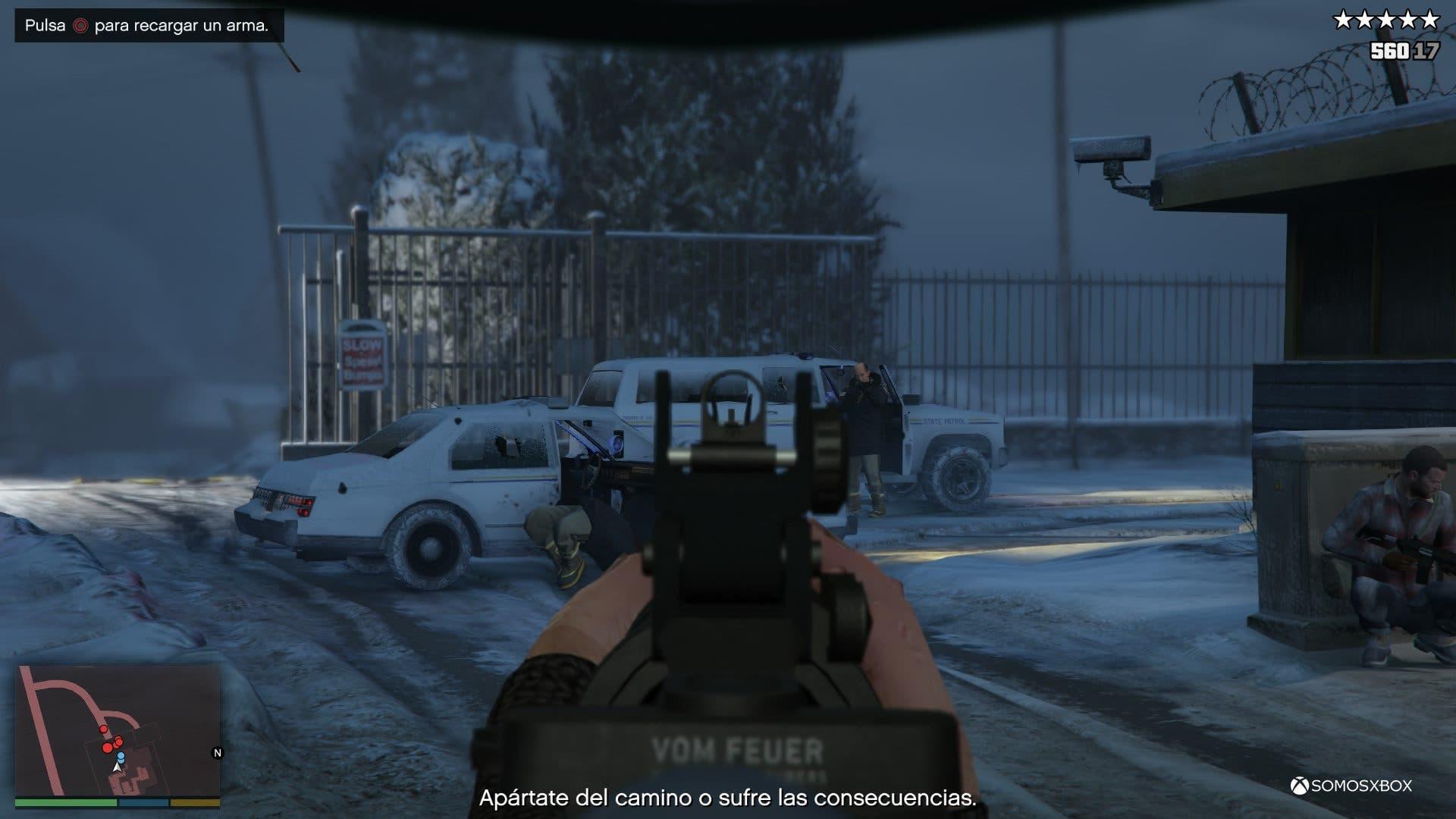 Análisis de Grand Theft Auto V 7