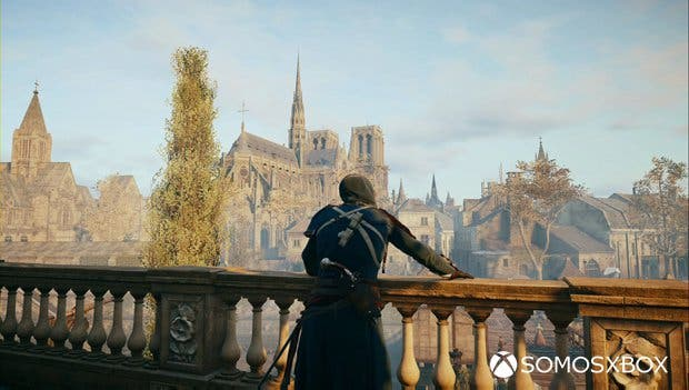 assassin's creed unity balcón