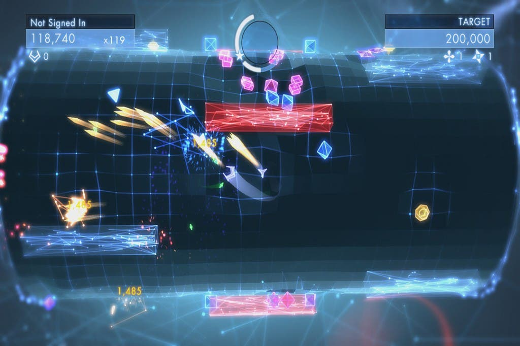 Geometry Wars 3 Dimensions (2)