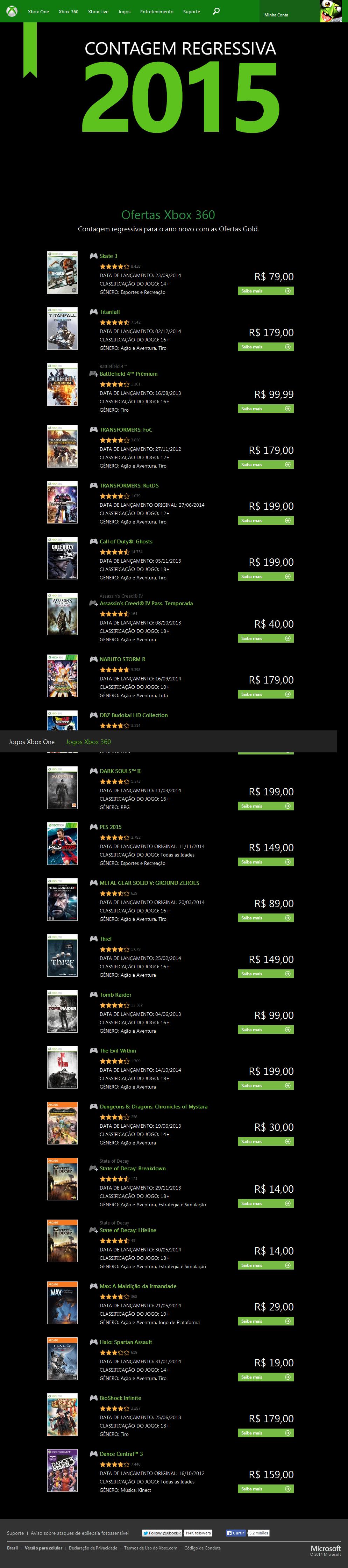 Ofertas_de_Navidad_Xbox_One_360