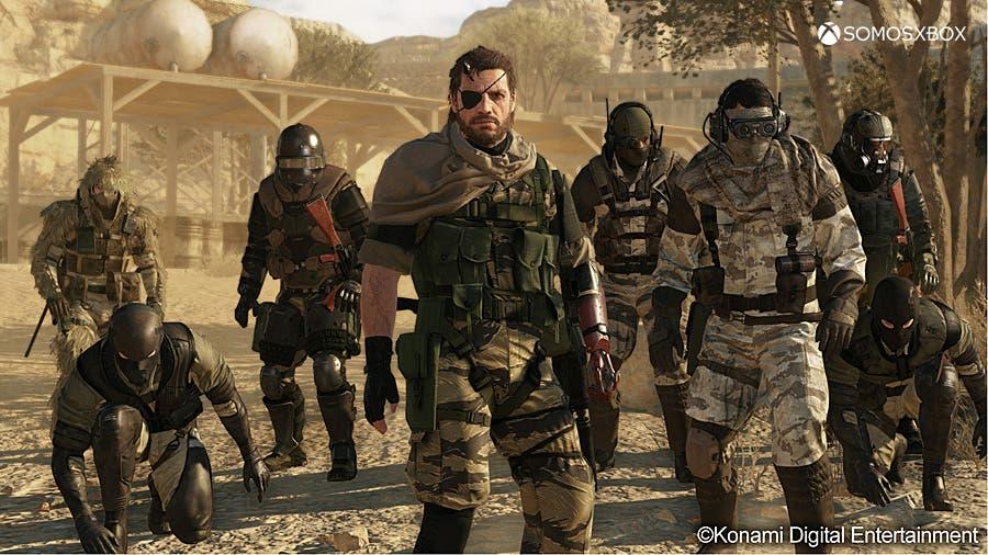 Confirmado Metal Gear Online, el multijugador de The Phantom Pain 1