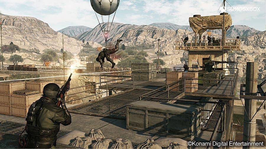 Confirmado Metal Gear Online, el multijugador de The Phantom Pain 3