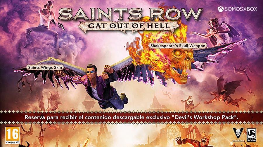 Campaña de reserva de Saints Row: Gat out of Hell y Re-Elected 1
