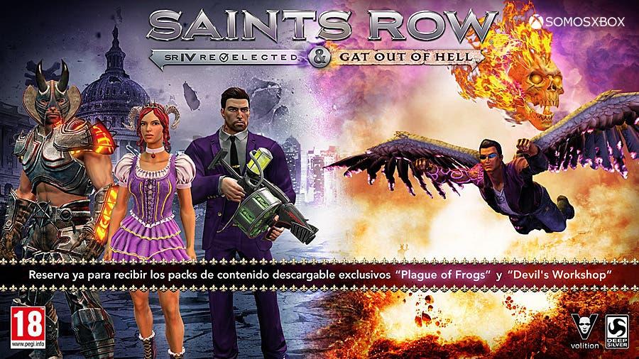 Campaña de reserva de Saints Row: Gat out of Hell y Re-Elected 2