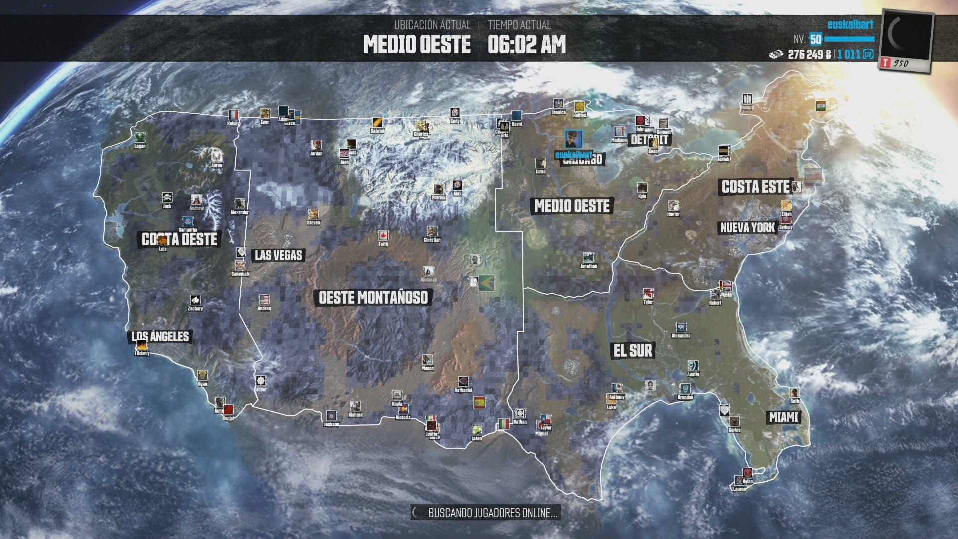 Mapa The Crew 2.Analisis De The Crew Somosxbox