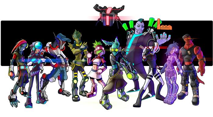 El juego inspirado en Jet Set Radio, Hover, presenta las plataformas que incluirán Juego Cruzado 1