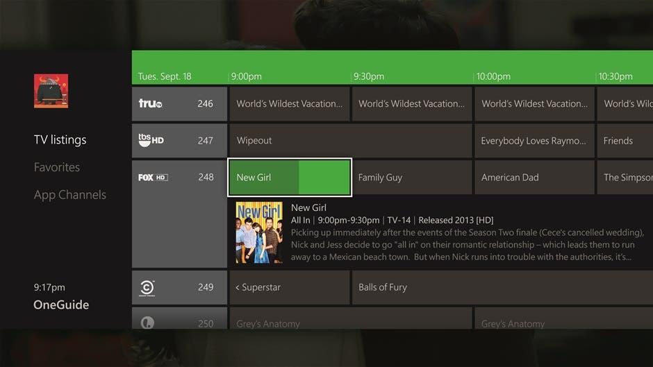 Xbox One podría permitir grabar programas de TV en el futuro 1