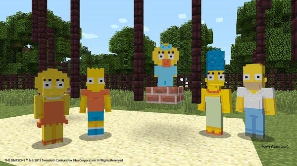 Por fin disponible el Skin Pack de Los Simpsons en Minecraft 27