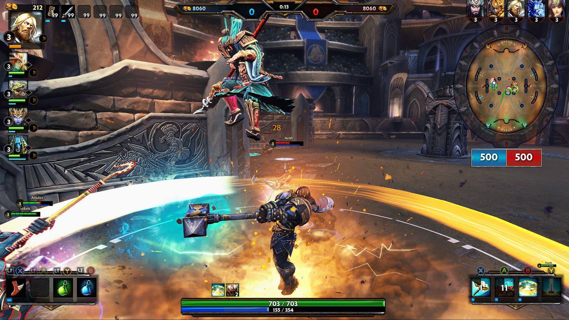 Smite se actualiza para combatir la toxicidad y mejorar el matchmaking 2
