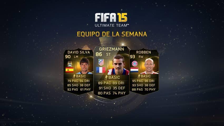 Ya sabemos el equipo de la semana de FIFA 15 Ultimate Team (26 febrero - 4 de marzo) 5