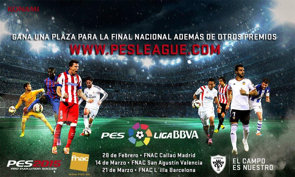 El campeonato nacional PESLiga BBVA entra en su recta final 6