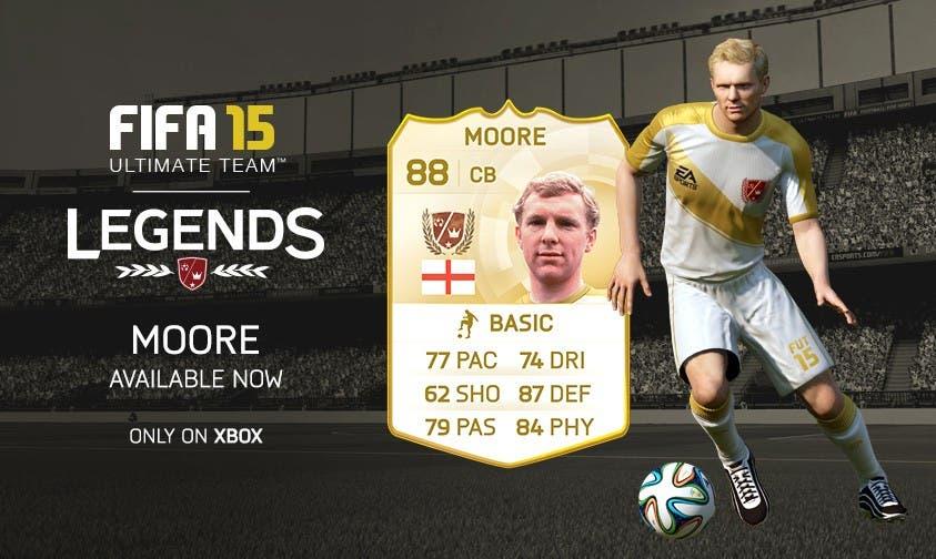 Bobby Moore se une a las Leyendas de FIFA 15 Ultimate Team 6