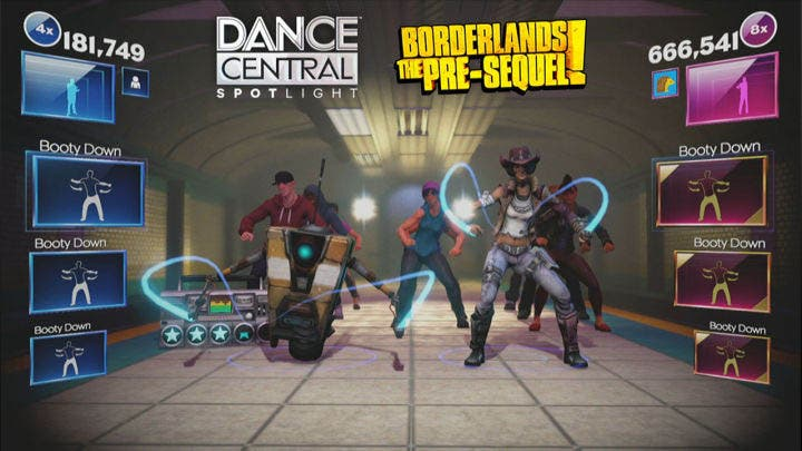 Dance Central: SpotLight recibe personajes de Borderlands: The Pre-Sequel 5