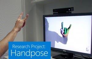 Kinect muestra su potencial en el reconocimiento de manos