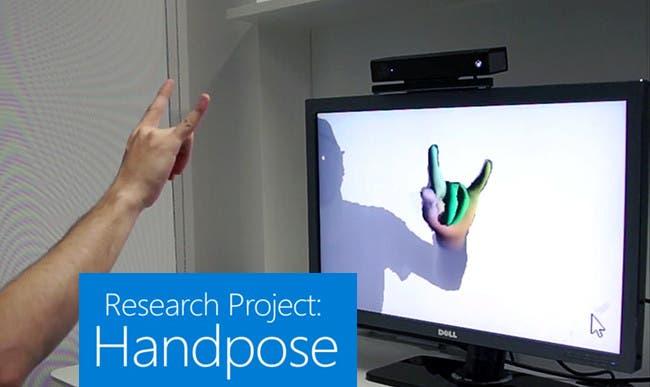 Kinect muestra su potencial en el reconocimiento de manos 8