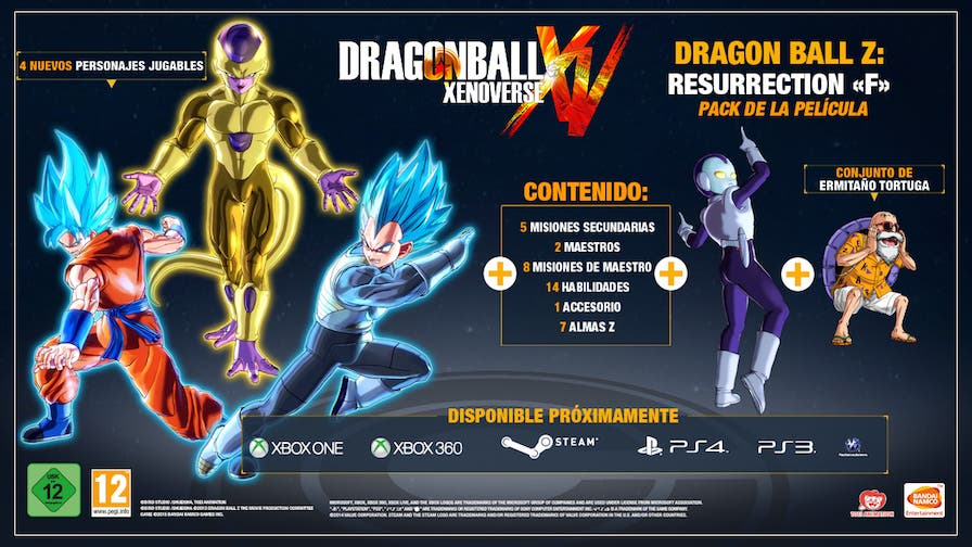 Disponible el DLC Revival of F para Dragon Ball Xenoverse 5