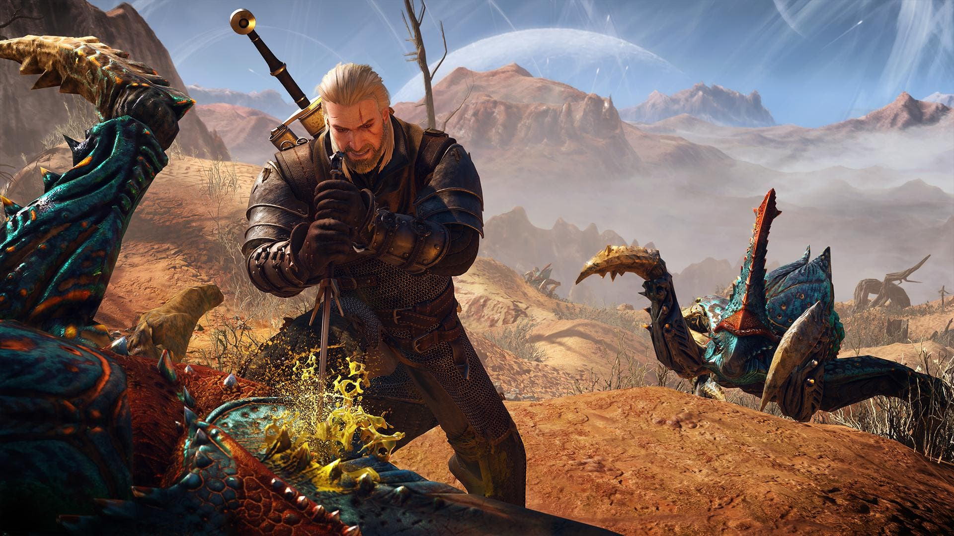 Gameplay de The Witcher 3: Wild Hunt con el parche day-one 1