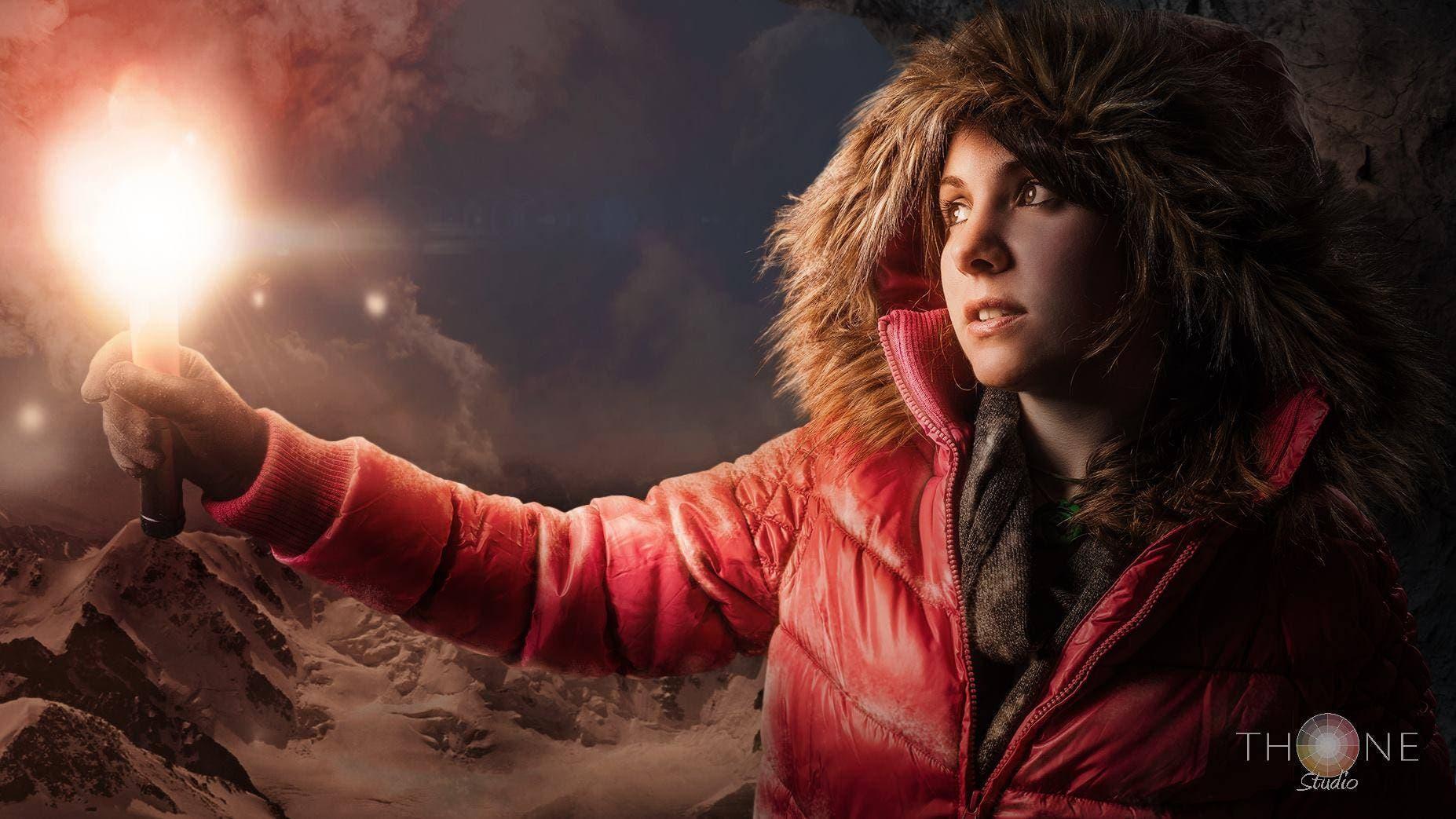 cosplay de Lara Croft rise of the tomb raider 1