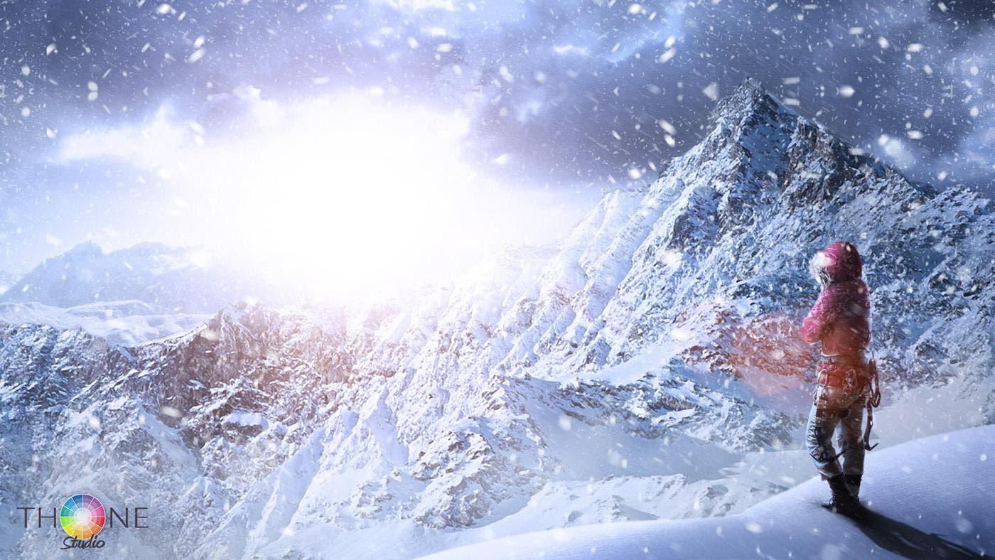 cosplay de Lara Croft rise of the tomb raider 3