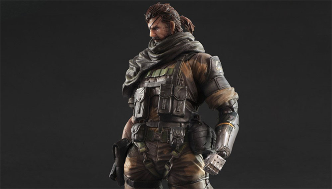figuras de Big Boss en Metal Gear Solid V: The Phantom Pain