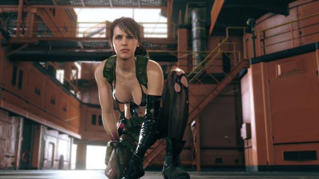 PlayArts y Konami se pasan con la figura de Quiet de Metal Gear Solid V: The Phantom Pain 1