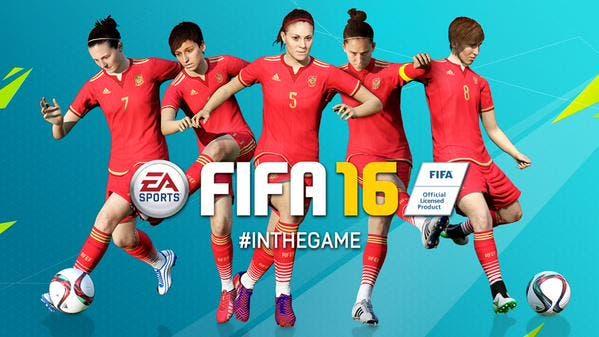 selección española femenina en FIFA 16