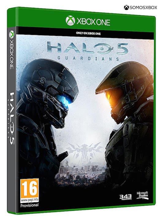 Halo 5 portada