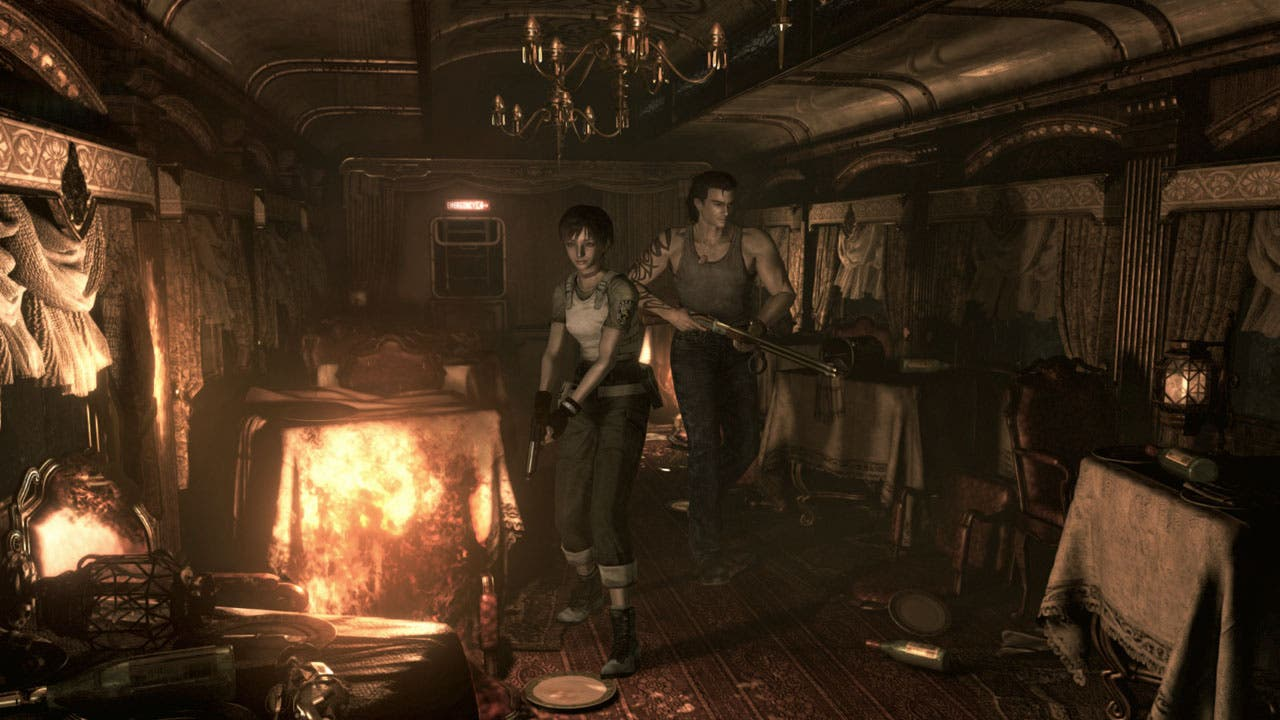 Extenso gameplay de Resident Evil Zero HD Remaster a 1080p y 60 fps 5