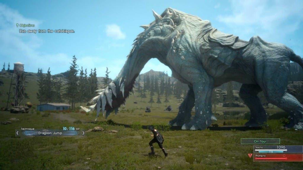 Ya disponible Final Fantasy XV: Episode Duscae 2.0