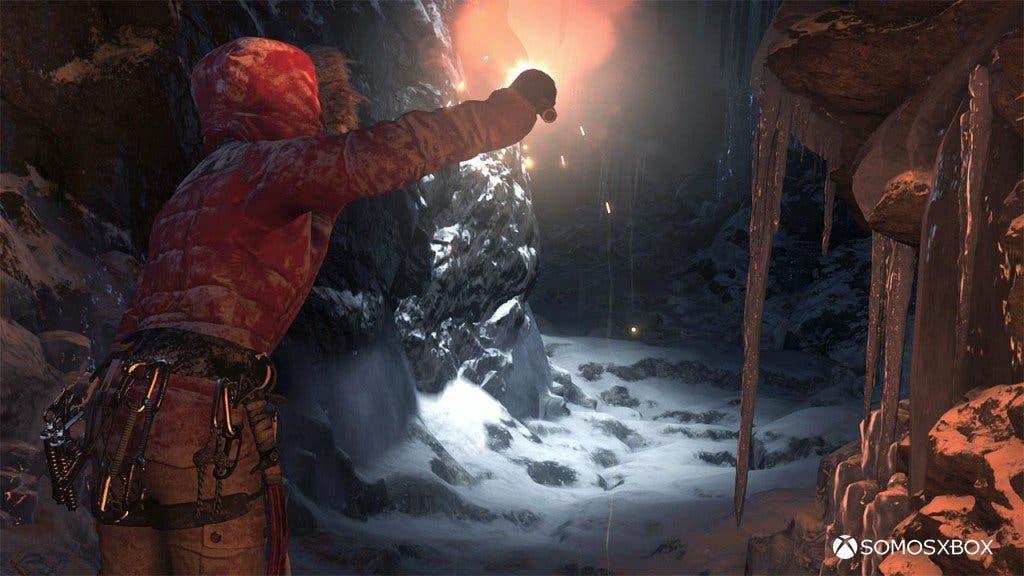imágenes ingame de Rise of the Tomb raider