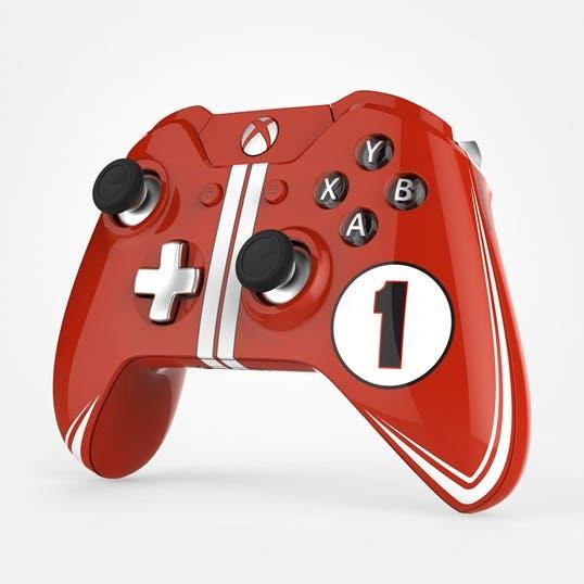 Microsoft celebra las 24 horas de Le Mans con unos increíbles mandos personalizados de Xbox One 1