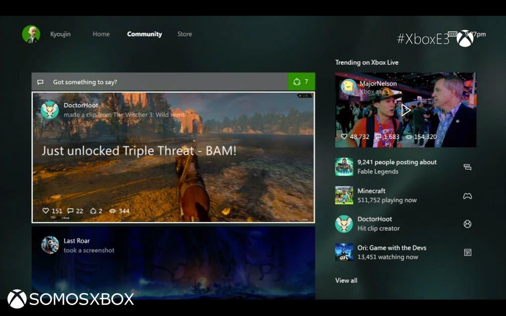 Xbox One new interfaz (2)
