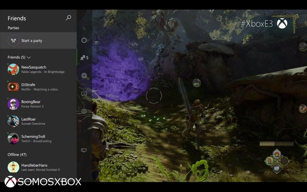Xbox One new interfaz (3)