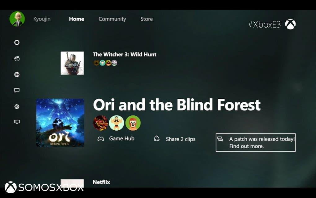 Xbox One new interfaz (5)