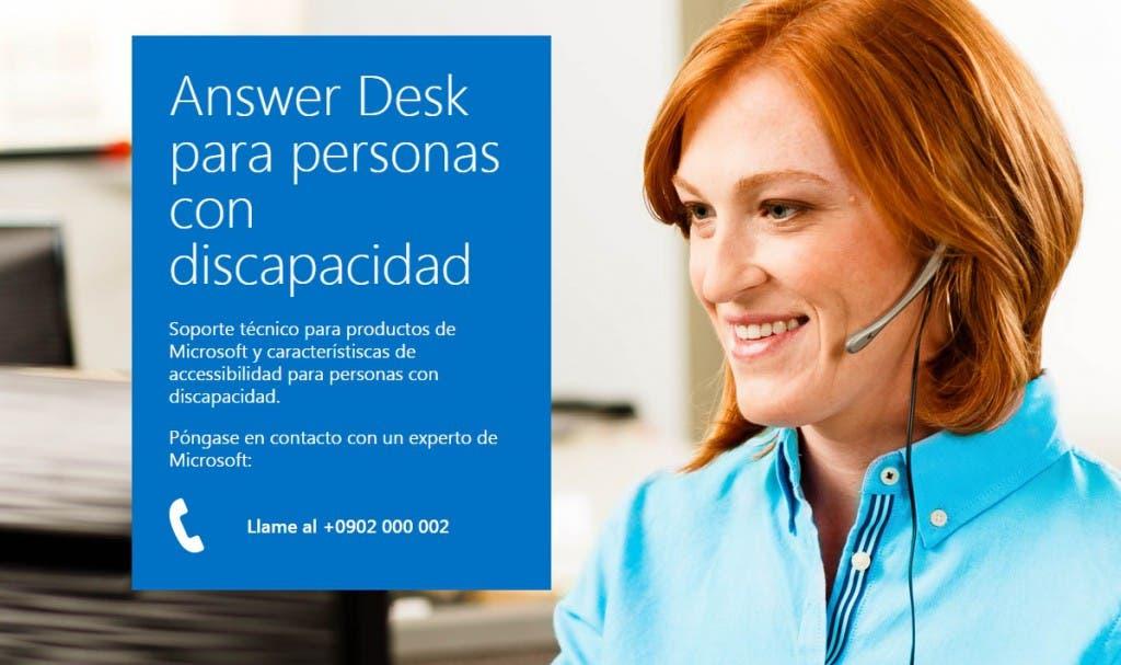 answer desk