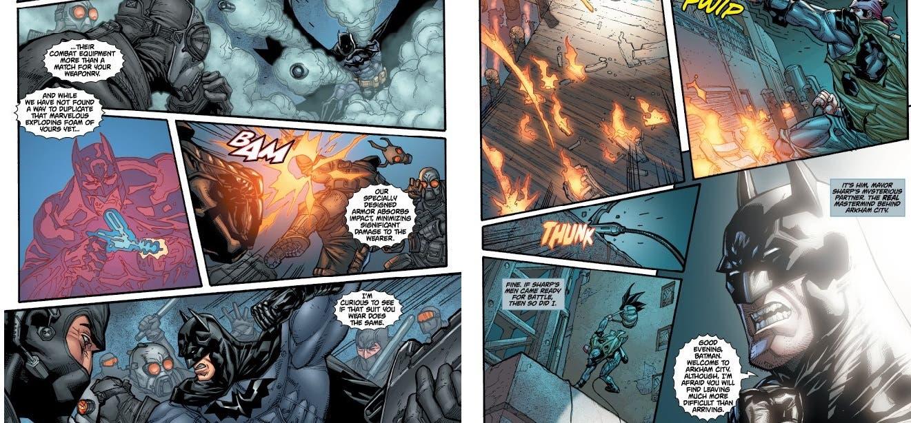 batman arkham city  comic