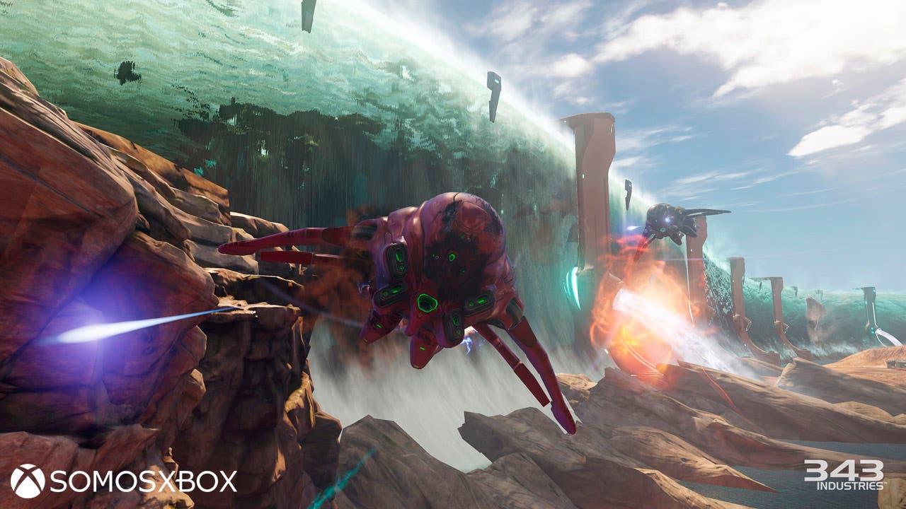 Nuevo vídeo de Halo 5: Guardians, modo Warzone 1