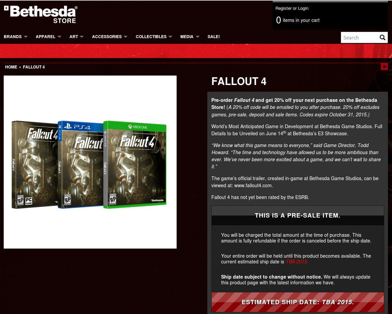 lanzamiento_Fallout_4