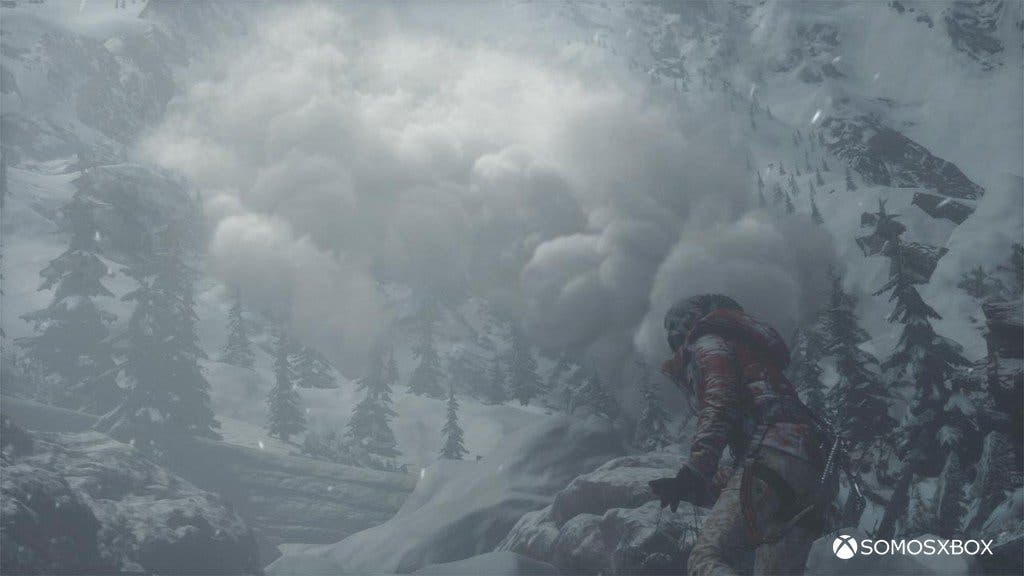 imágenes ingame de Rise of the Tomb raider