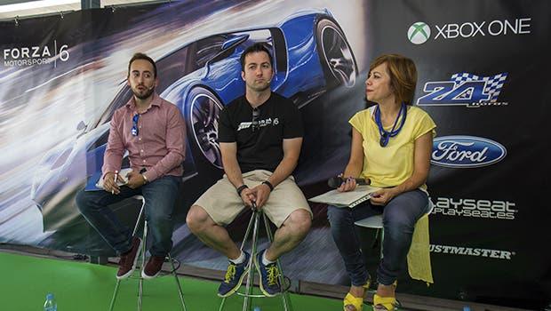 Microsoft presentó Forza Motorsport 6 en las 24 Horas Ford 2015 1
