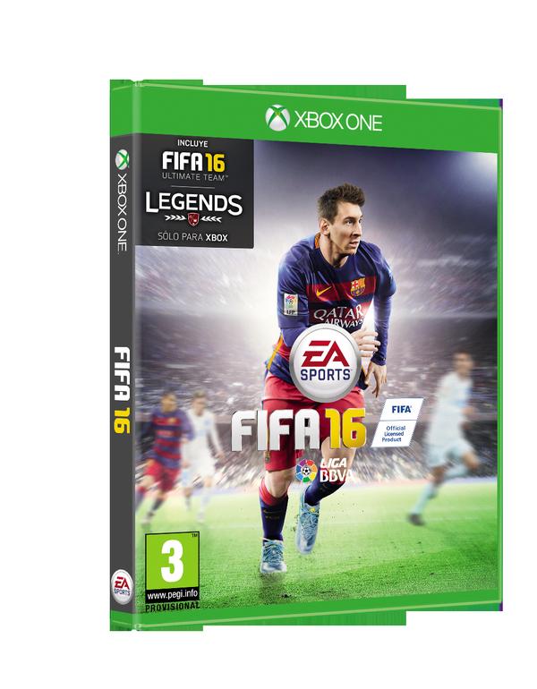 portada de FIFA 16